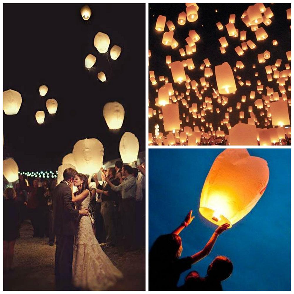 des lanternes pour son mariage
