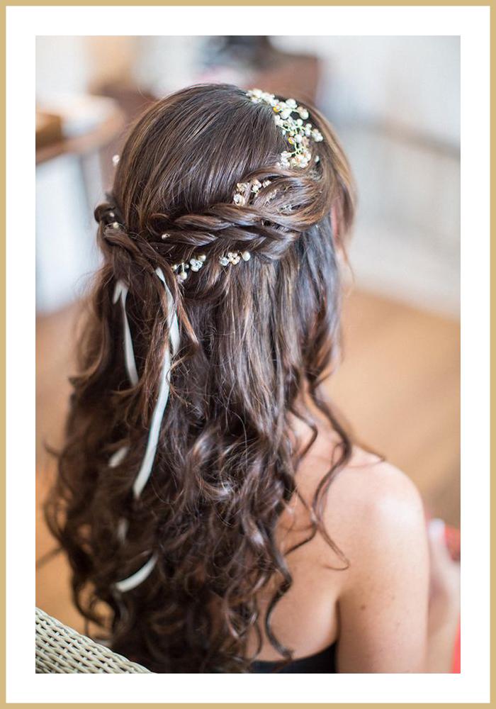 La soeur de la mariée - Blog mariage - Idée coiffure mariage