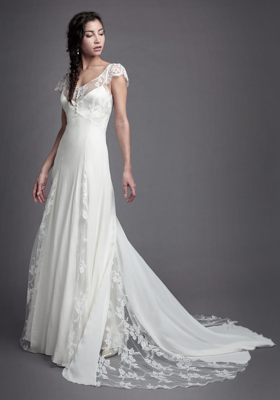 Robe de mariée Christophe-Alexandre Docquin - La Soeur de la Mariée - Blog mariage